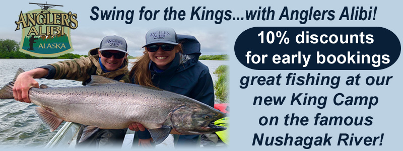 Angler's Alibi King Camp on the Nushagak River