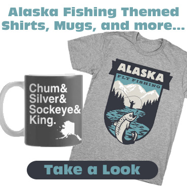 Alaska Fly Fishing T-Shirt, Mugs & More