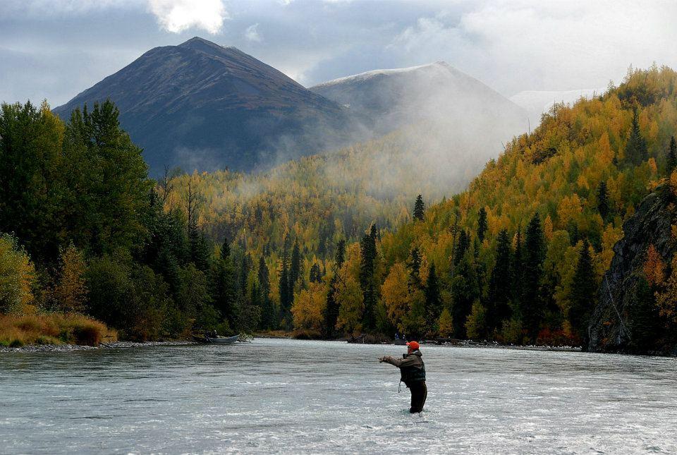 Alaska river adventures south central alaska my for Alaska fly fishing