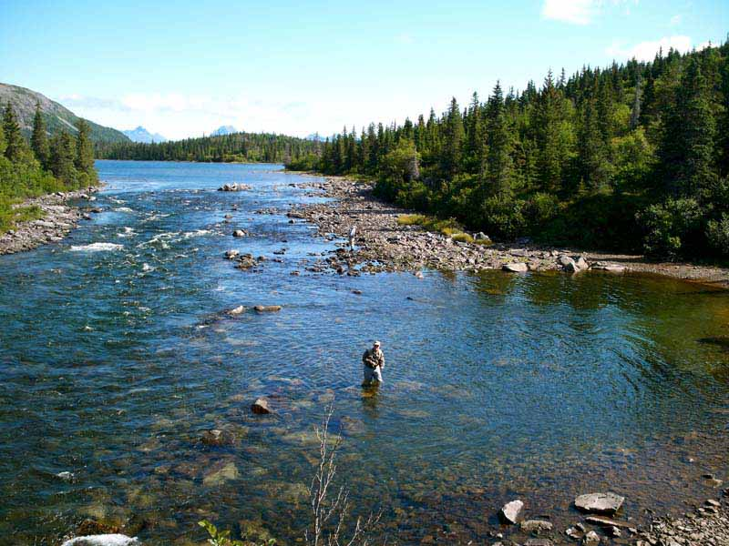 Cusack 39 s alaska lodge southwest alaska my alaskan for Alaska fly fishing
