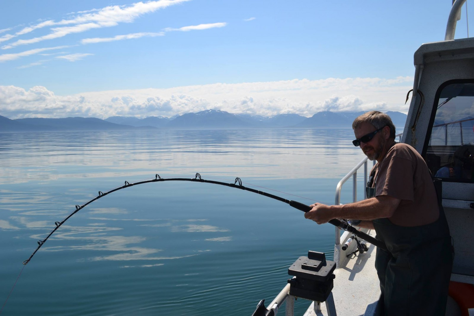 Great chinook lodge southeast alaska my alaskan for Alaskan fishing trips