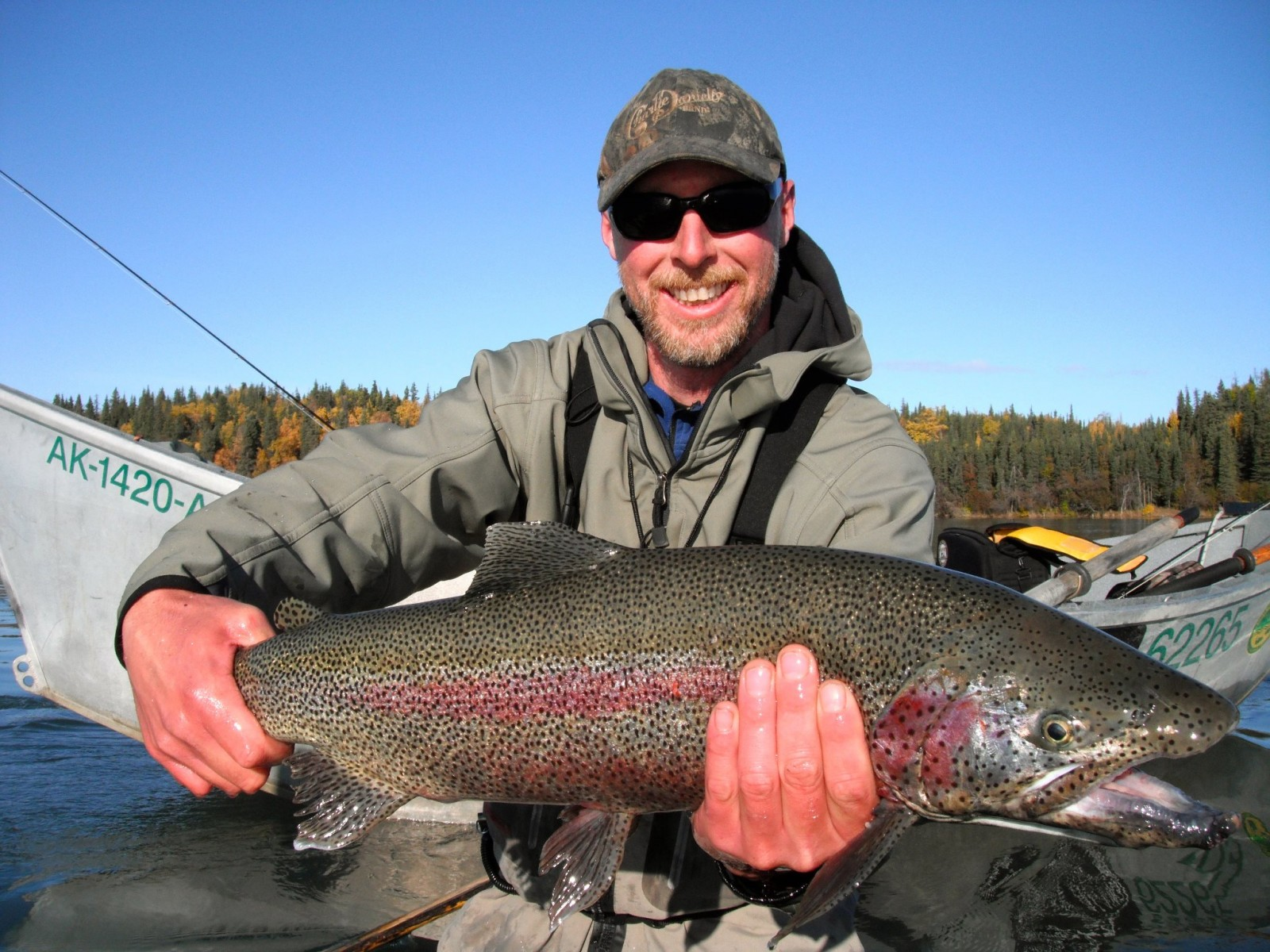 Great alaska adventures kenai river lodge south for Alaskan fishing trips