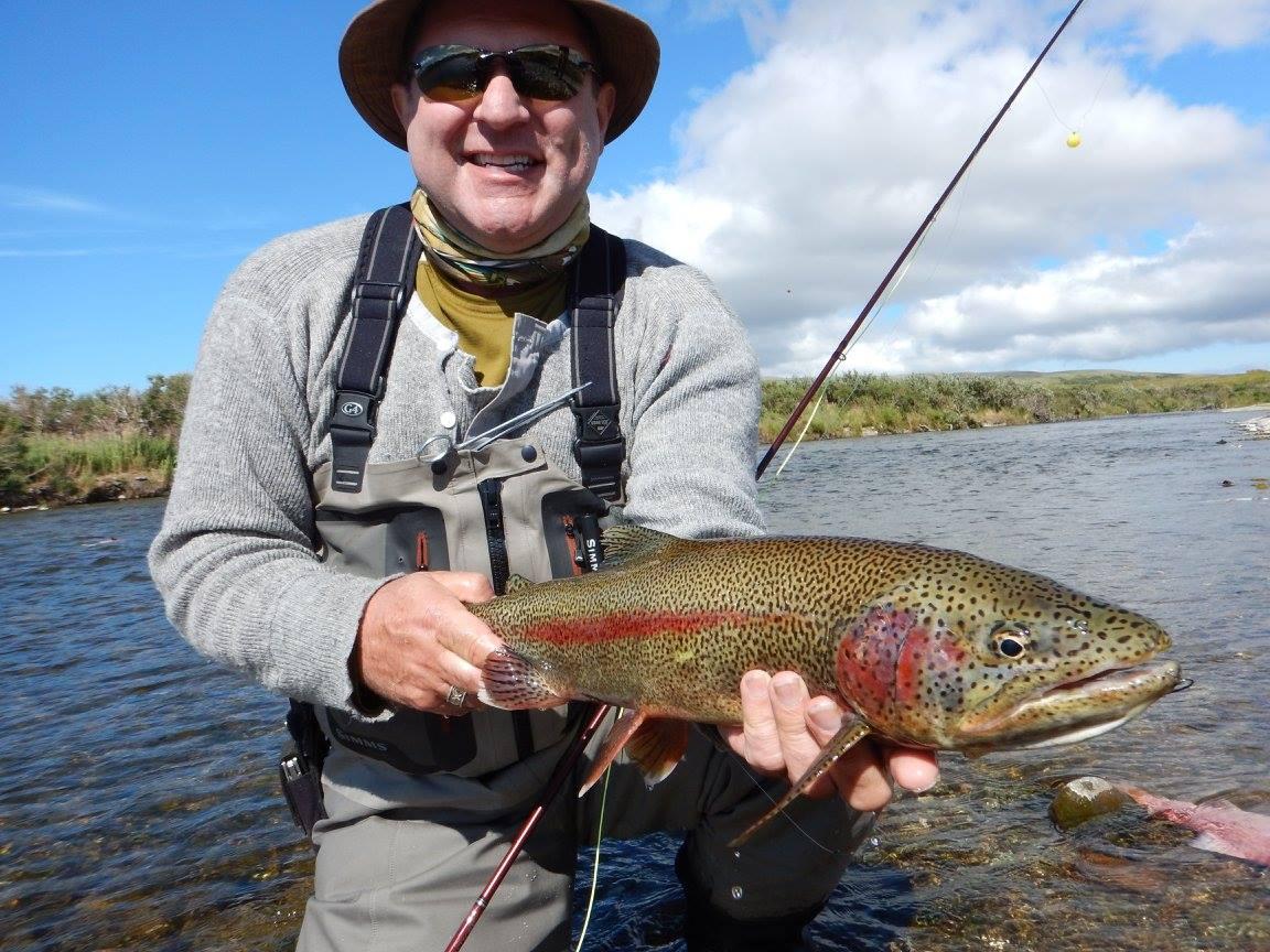 No see um lodge southwest alaska my alaskan fishing trip for Rainbow trout fishing