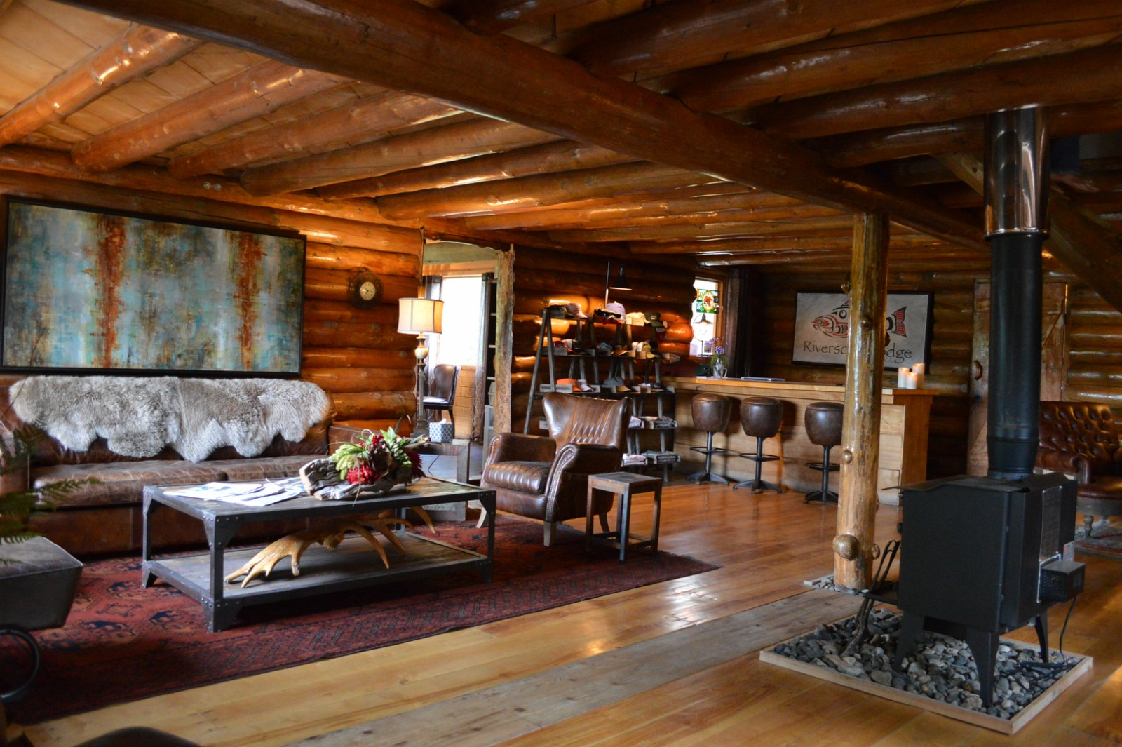 Riversong lodge south central alaska my alaskan for Fishing lodges in alaska