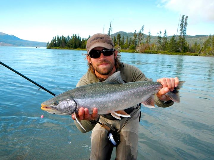 Tower rock lodge south central alaska my alaskan for Dolly varden fish