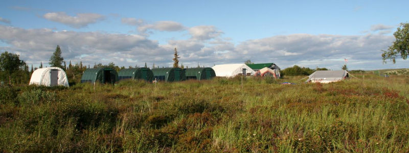 Alaska's Alagnak Wilderness Camps and Trap