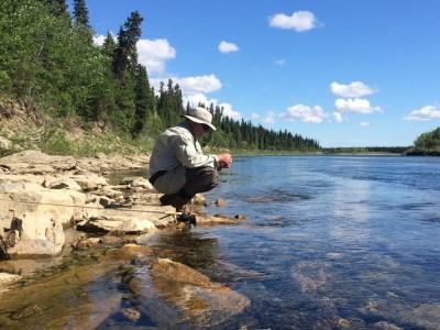 Fly Fishing in Pristine Waters