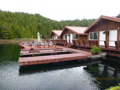 Alaska 39 s sea otter sound lodge southeast alaska my for Otter fish houses