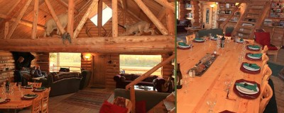 Inside Alaska's Anvik River Lodge