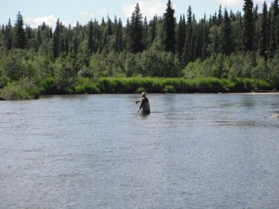 Fly Fishing with Beartracks Lodge