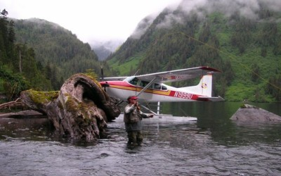 Fly out to remote fly fishing