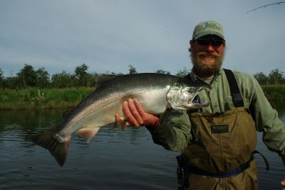 Tikchik Narrows Lodge Salmon Fishing