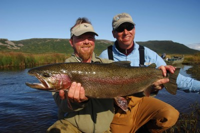 Trophy Alaska Rainbow Trout Fishing