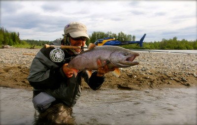 Fly Fishing for Kings