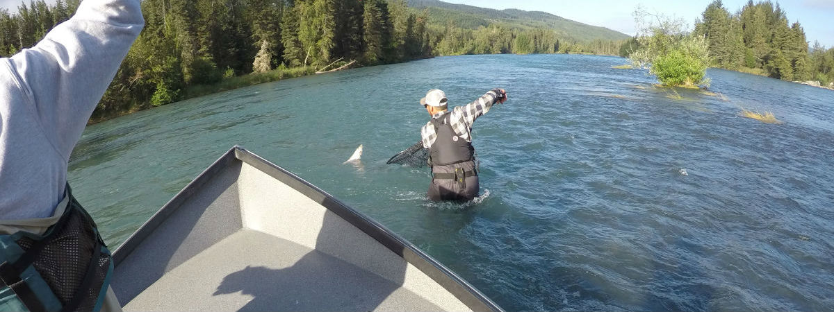 Fishing the World Famous Kenai River