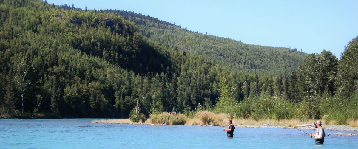 Fly Fishing the Kenai River