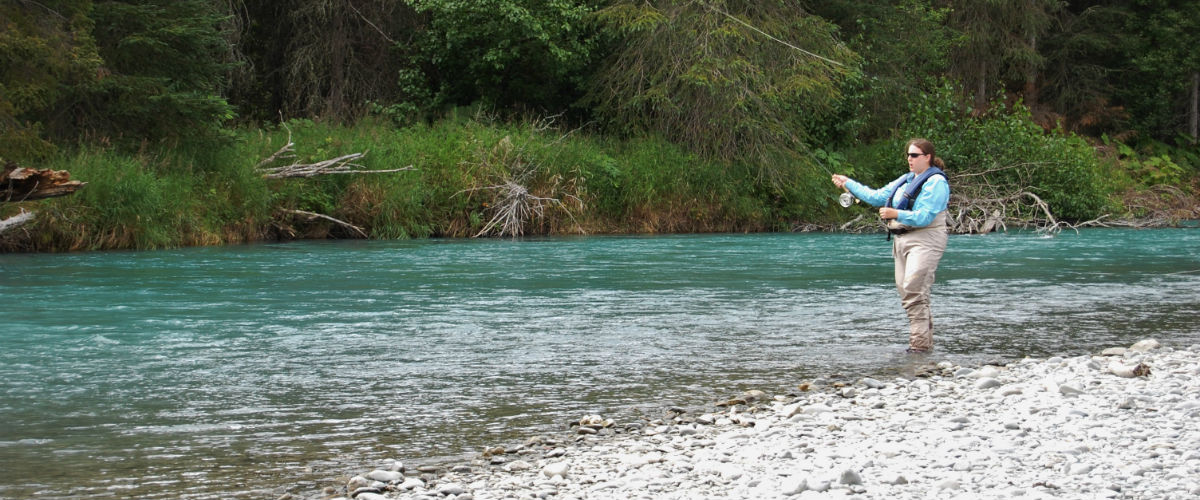 Maximizing your cooper landing fishing experience my for Learn how to fly fish