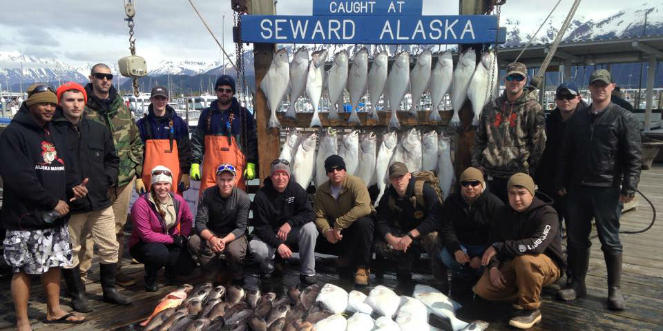 Saltwater Fishing for Halibut, Salmon & Rockfish