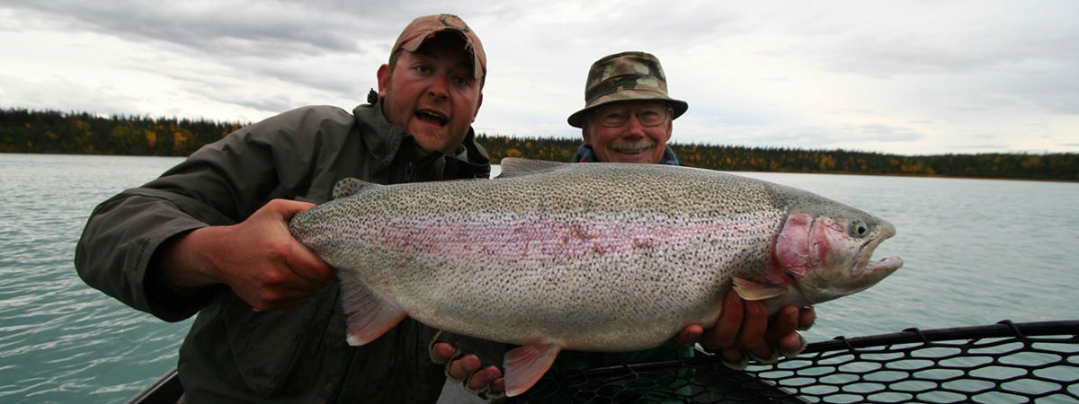 Alaska Troutfitters - Trophy Rainbow Trout
