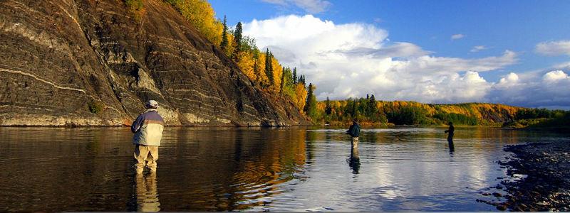Alaska 39 s anvik river lodge interior far north alaska for Alaska fishing camps