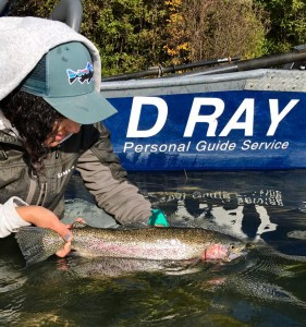Fishing with D Ray Guide Service