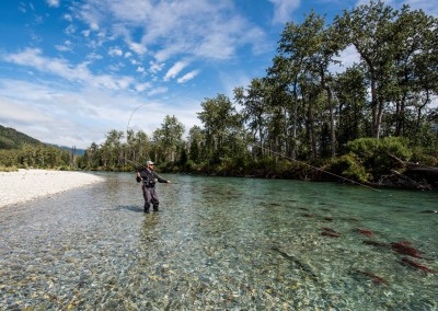 Fly Fishing with Fish and Float Alaska