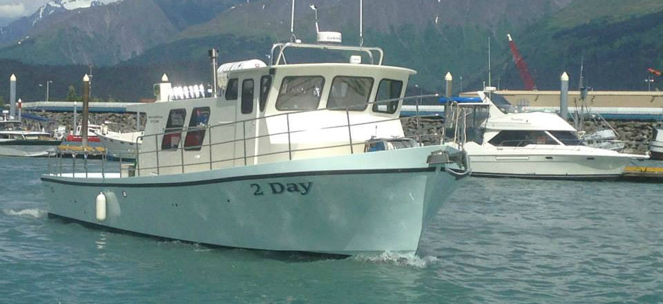 Experience a Alaska Saltwater Fishing Charter - A Day Aboard the 2-Day